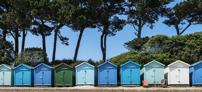 Beach-huts-Christchurch